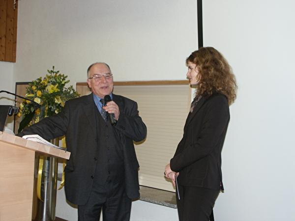 Hauptreferent Karl Sieghartsleitner