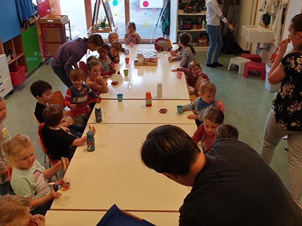Die Kinder der Teilnehmer