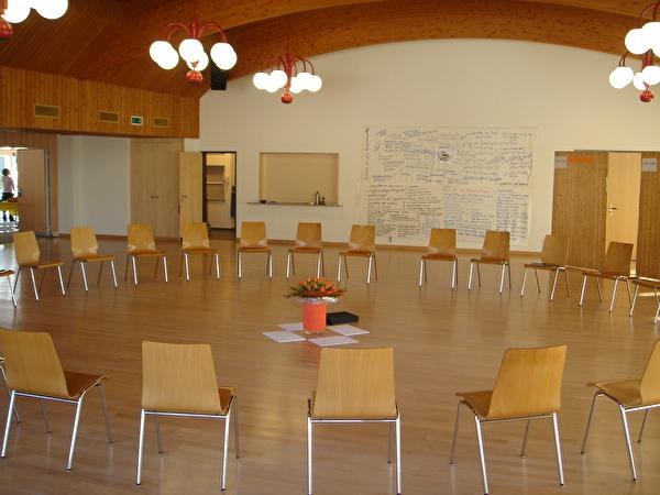 Sitzordnung der Arbeitsgruppe