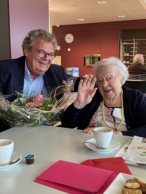 90 ans réception - Cornu Jean-Claude et Marie Bochud
