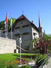 Château depuis la Promenade sur les remparts