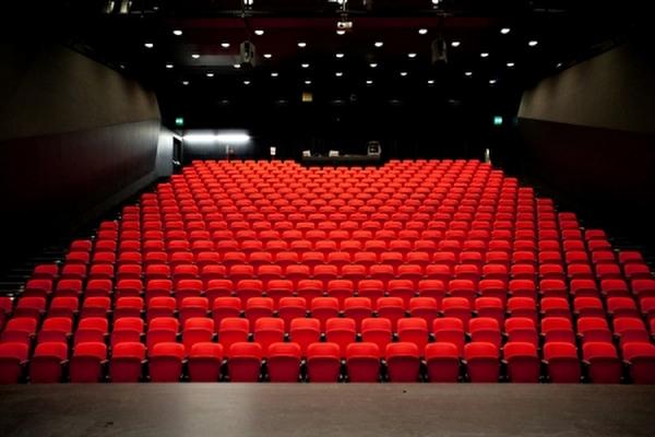 intérieur de la salle de spectacle du BICUBIC