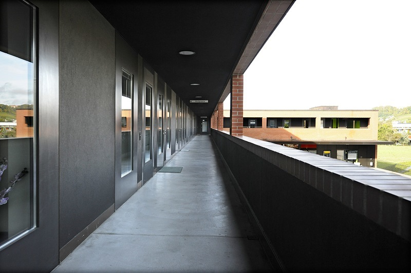 Korridor zu den Mietern
