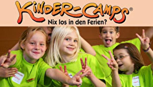 Kinder im Camp zeigen viel Freude