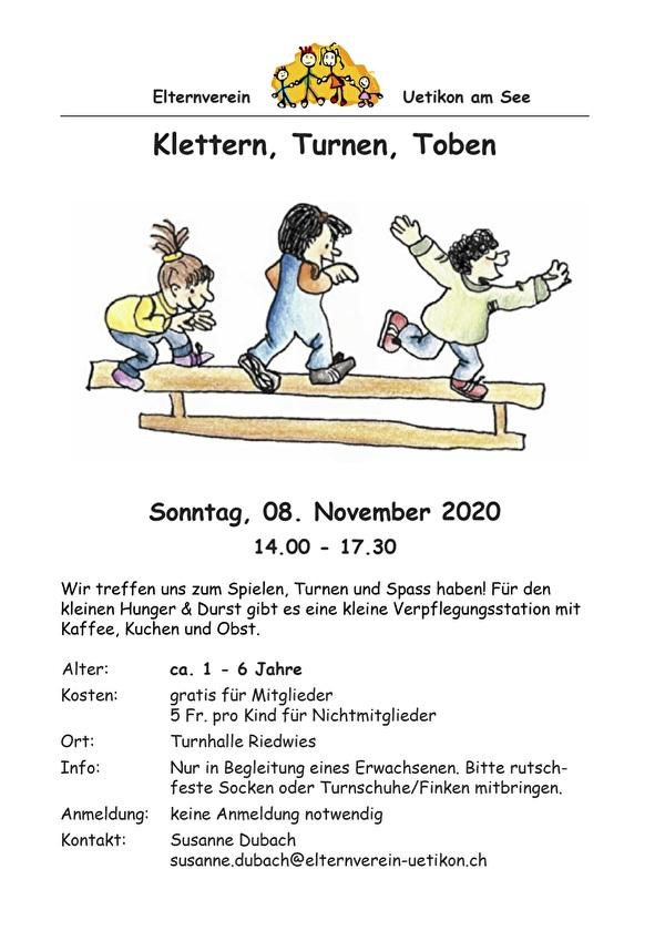 Klettern, Turnen, Toben 01.03.2020
