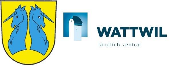 Gemeindewappen und Logo von Wattwil