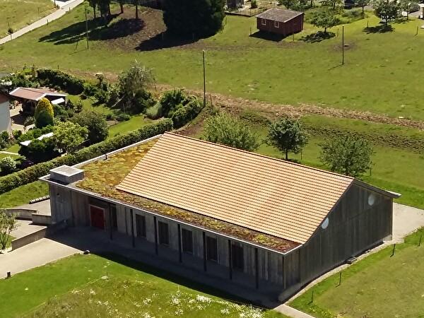 Villarimboud bâtiments et places