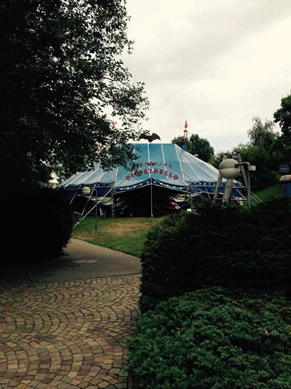 Zirkuszelt in Zumikon