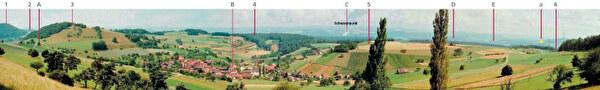 Panoramasicht Rotbergegg