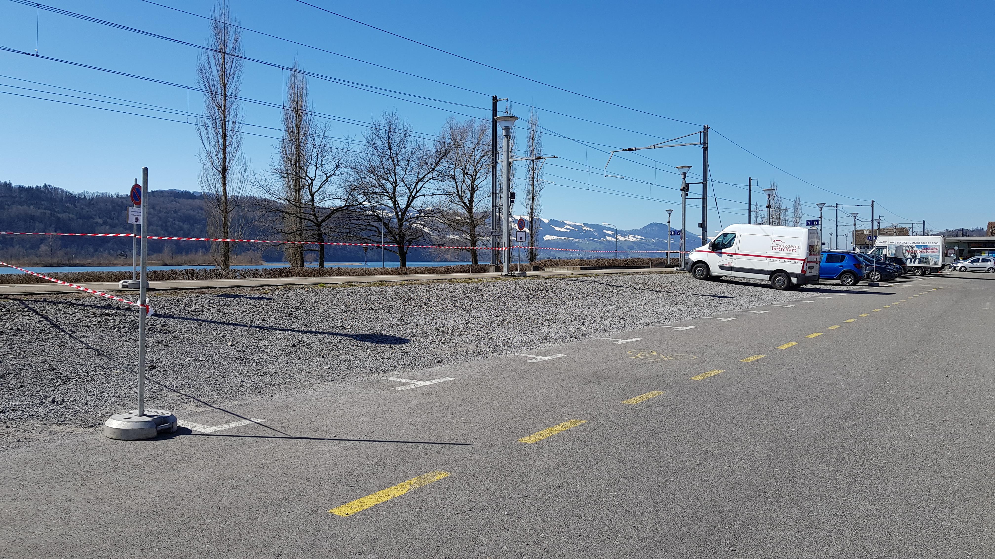 Parkplatz Dauerparker