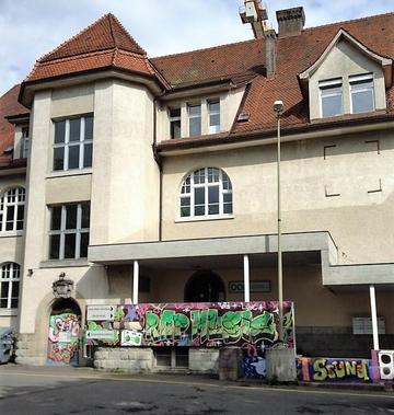 Gebäude DOP - Eingang Jugendtreff & Büro