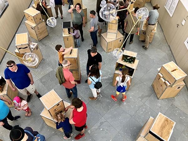 #meibox18. Aufnahme der Ausstellung