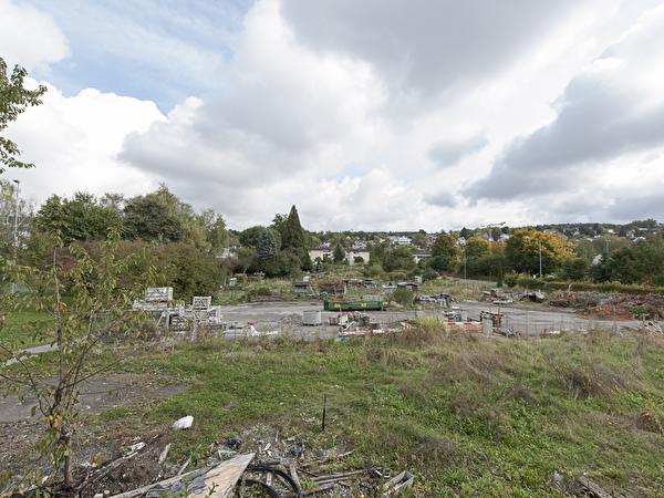 Areal vor Baubeginn Oktober 2013