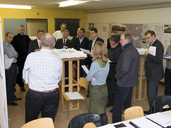 Jurytage Projektwettbewerb Neubau WPZ Blumenrain Dezember 2010
