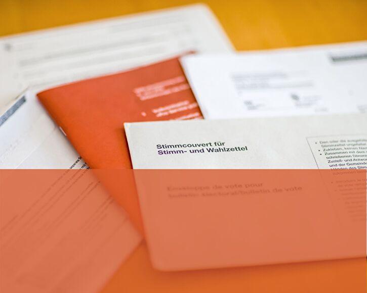 Abstimmungsunterlagen Bundeskanzlei