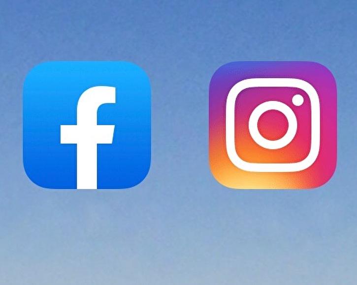 Logo Facebook und Instagram