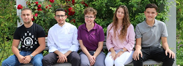Foto der neuen Lernenden