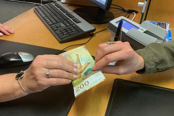 Geldausgabe
