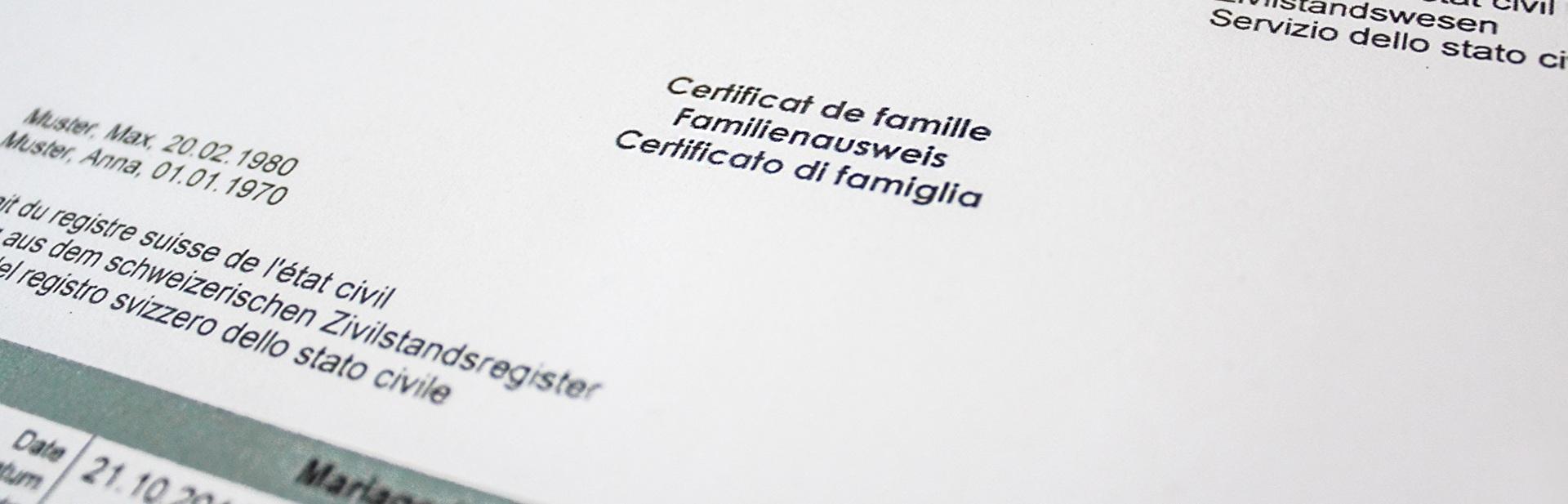 Familienausweis