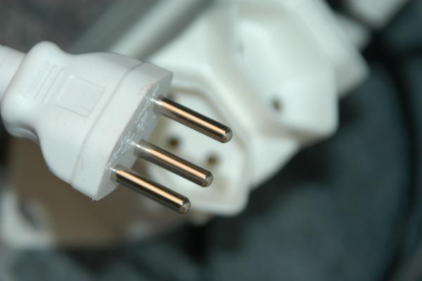 Stecker eines Kabels