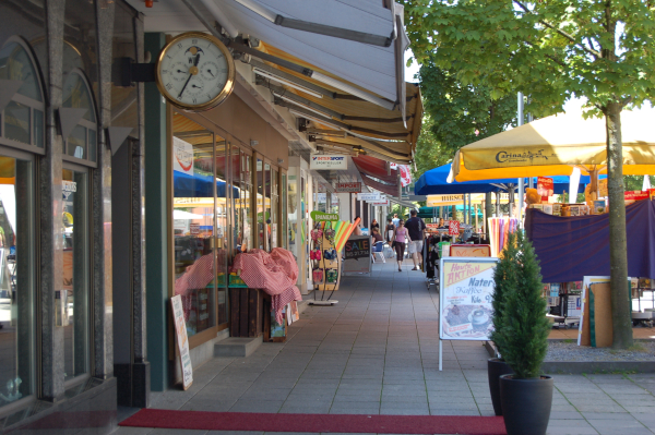 Einkaufspassage in Wil