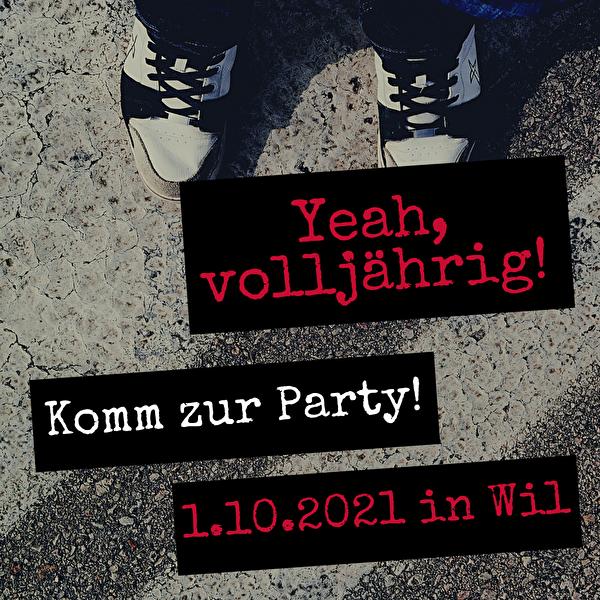 Party für Wiler Jungbürgerinnen und Jungbürger