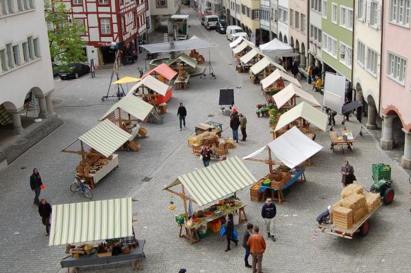 Wochenmarkt Stadt Wil