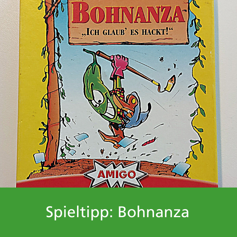 Spieletipp Bohnanza Ludothek