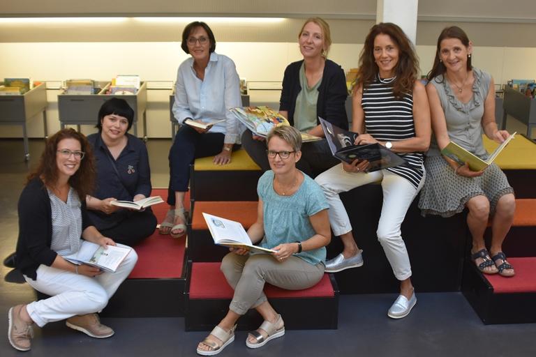 Team der Stadtbibliothek Wil