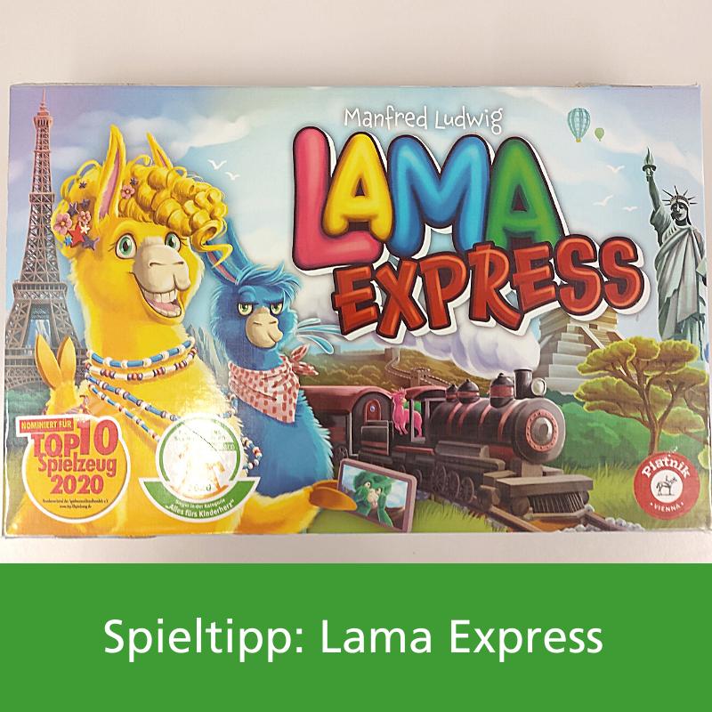Spieletipp Lamaexpress Ludothek