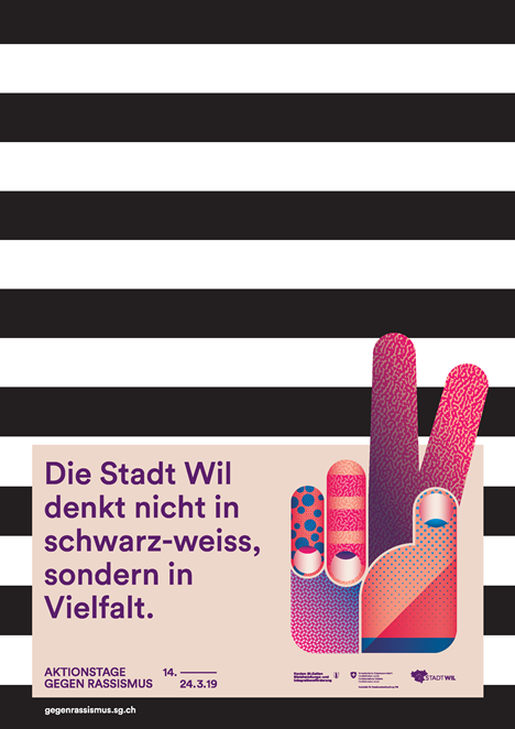 Stadt Wil Rassismuskampagne 2019
