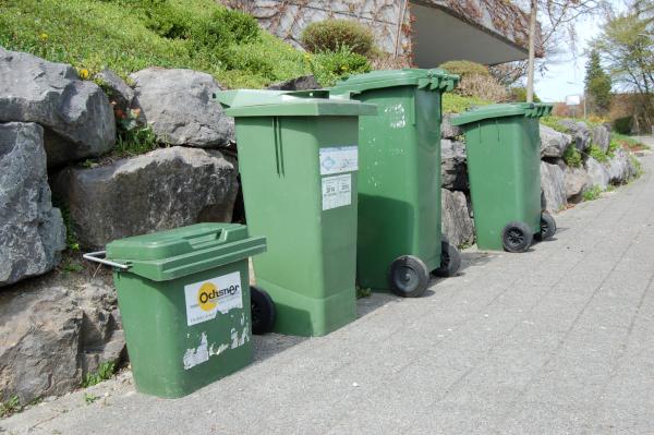 Mülltonnen für Biomüll