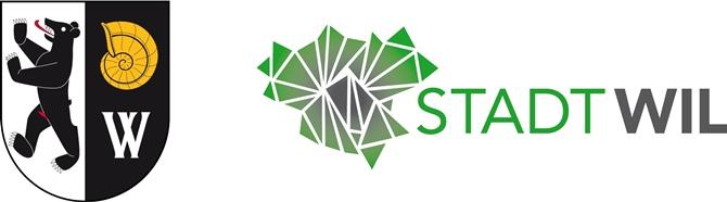 Wappen und Logo der Stadt Wil