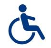 Icon Rollstuhlfahrer