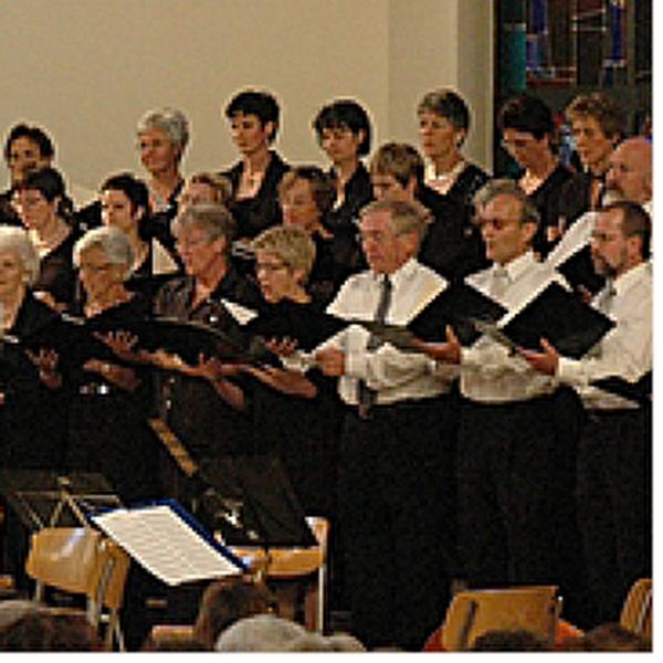 Kammerchor während einem Auftritt