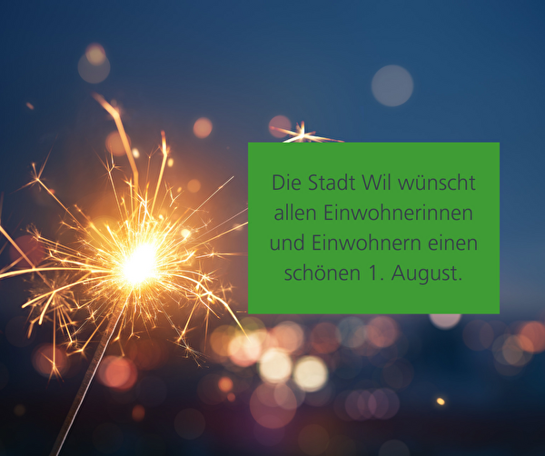 1. August 2020 Stadt Wil