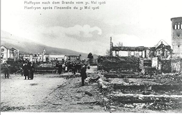 Dorfbrand vom 31. Mai 1906