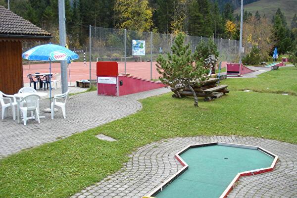 Minigolf- und Tennisanlage Schwarzsee