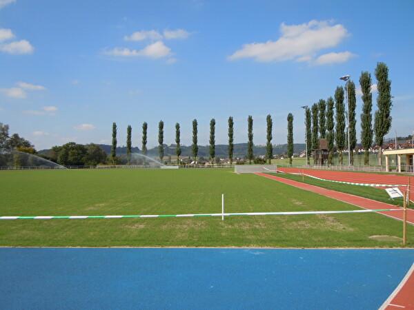 Sportanlage im Moos