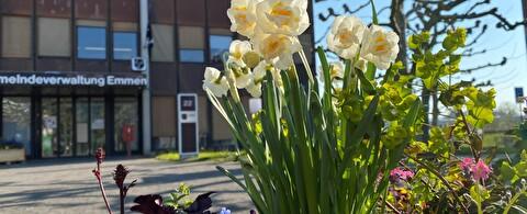 Blumengruss Gemeinde Emmen