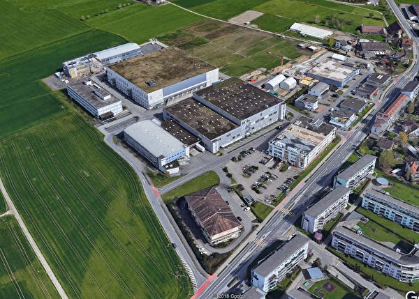 Luftbild Gebiet Meierhof