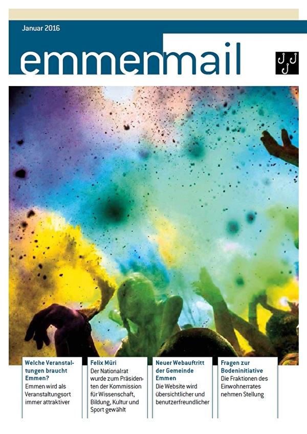 Cover Emmenmail Januar 2016