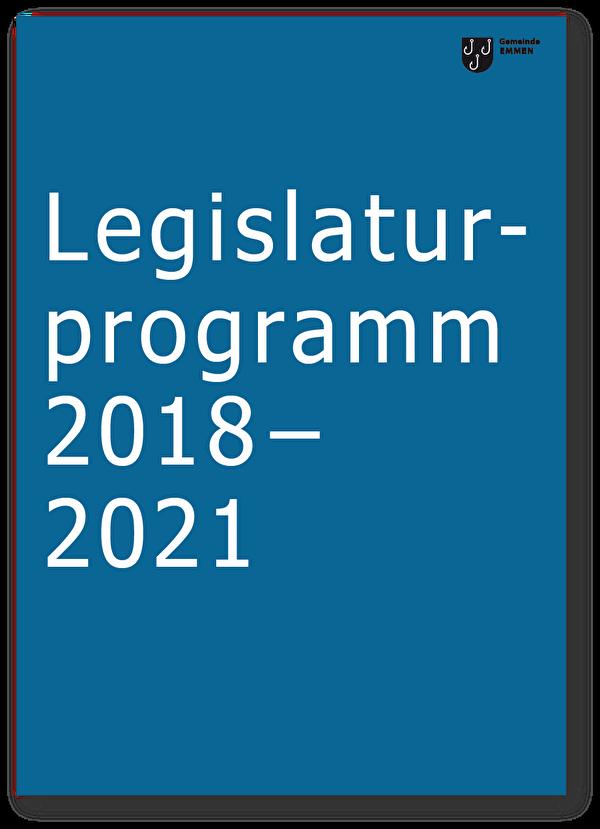 Legislaturprogramm 2018 bis 2021