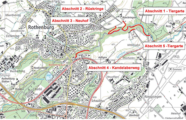 Sanierung Forstwege im Rotbachtobel
