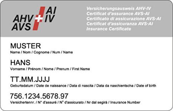 AHV / IV Ausweis