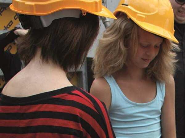 Bilder Grundsteinlegung Campus Moos