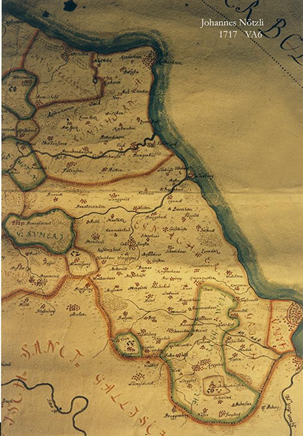 Nötzlikarte 1717