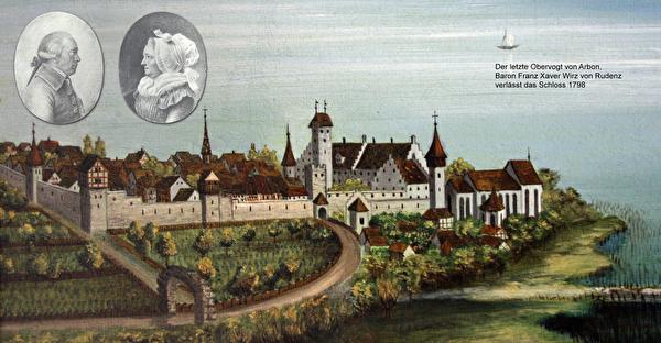 Der letzte Obervogt von Arbon: Baron Franz Xaver Anton Wirz von Rudenz 1798