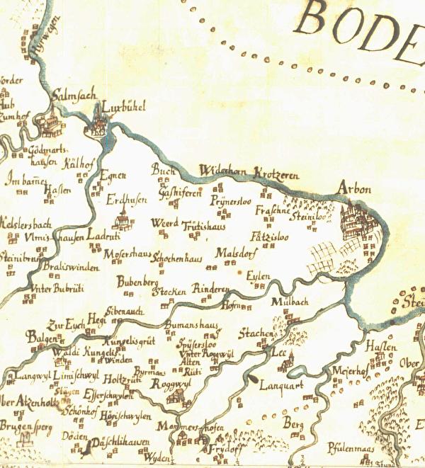 Murerkarte 1628