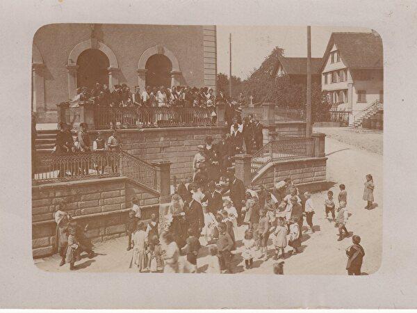 Wollerau damals